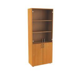 116_1 Шкаф комбинированый со стеклом 720х360х1800