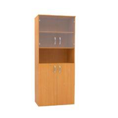 121 Шкаф комбинированный с нишей со стеклом 720х360х1800