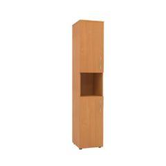 126 Шкаф узкий комбинированный с нишей1 360х360х1800